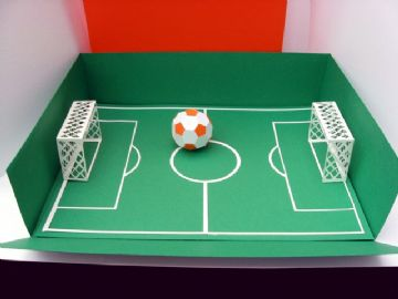 Football Pitch in a Box Template